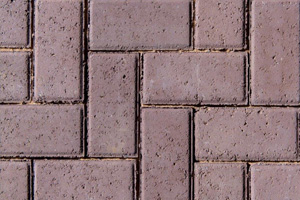 50MM CEMENT BEVEL PAVER BROWN