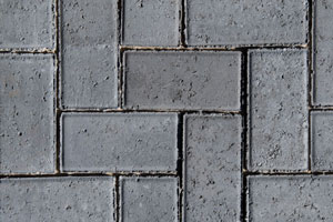 50MM CEMENT BEVEL PAVER CHARCOAL