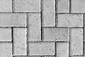 50MM CEMENT BEVEL PAVER LIGHT GREY