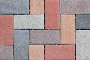 50MM CEMENT BEVEL PAVER MULTIBLEND