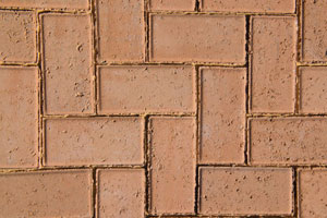 50MM CEMENT BEVEL PAVER TAN
